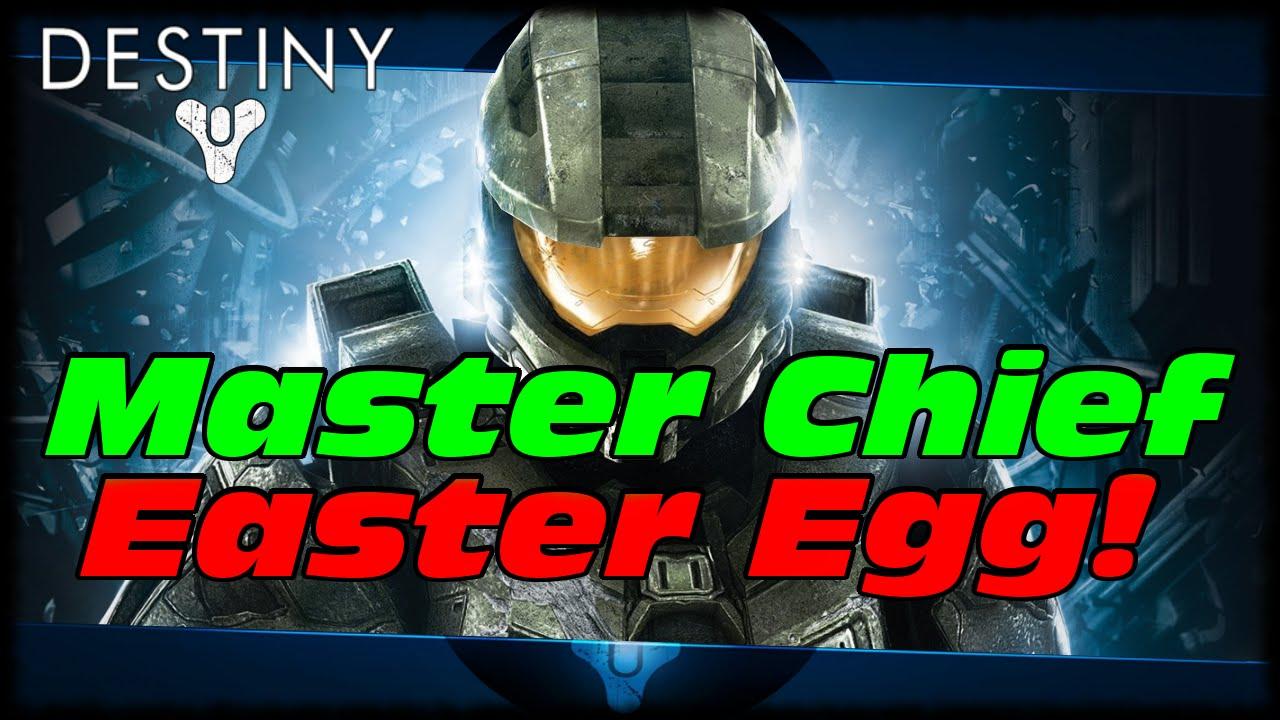 Destiny Master Chief Easter Egg