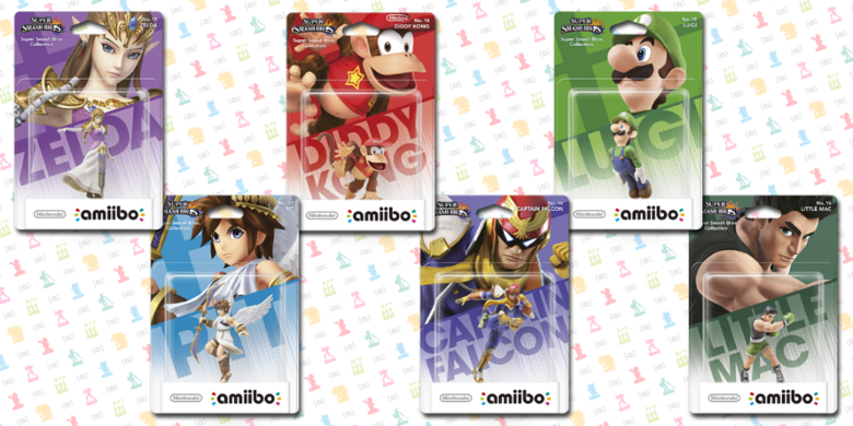 2ème vague d'Amiibo: 6 amiibos