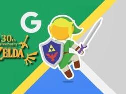 Googles Maps, The Legend of Zelda, Street View, Link, Anniversaire, 30 ans