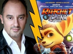 Marc Saez et le film Ratchet and Clank