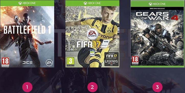 Classement ventes france Battlefield 1
