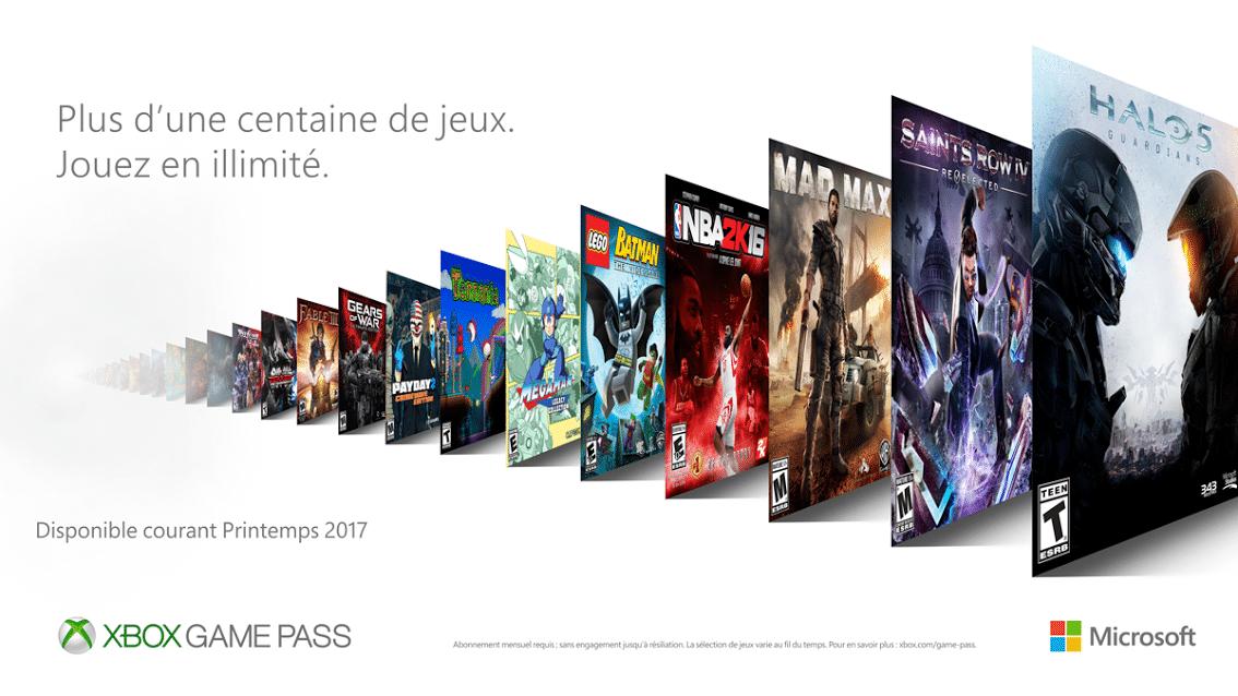 Xbox One : Microsoft va lancer son propre programme d'abonnement façon EA Access