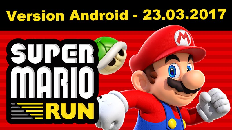 super mario run sur Android