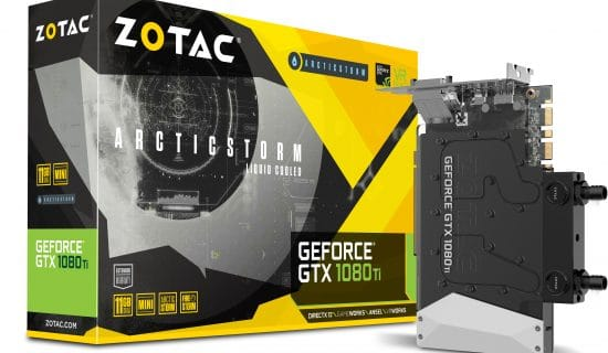 Zotac lance la GeForce GTX 1080 Ti Mini ArcticStorm, petit mais costaud !