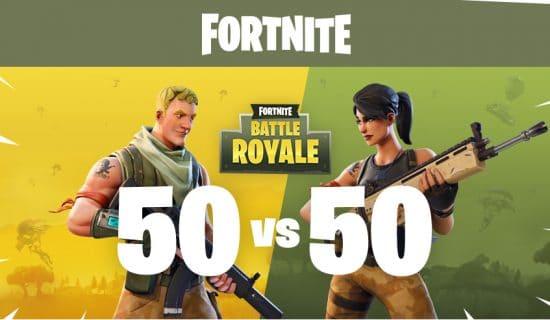 [News] Fortnite en 50 vs 50
