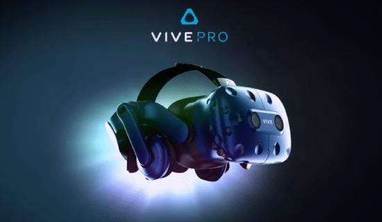HTC VIVE annonce le VIVE PRO et l'adaptateur sans fil pour VIVE au CES pour une VR Prenium !