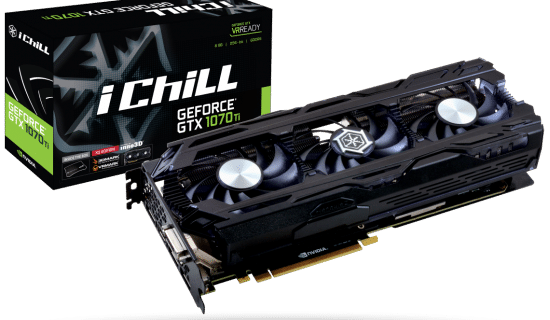 [Test] Carte Graphique Inno3D GTX 1070ti iChill X3