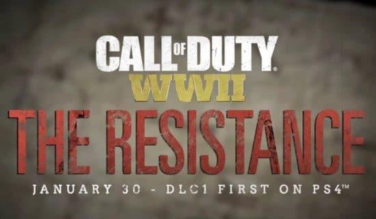 CALL OF DUTY WWII The Resistance - Enfin dispo sur Xbox et PC, voici ce qui vous attends