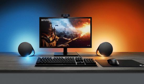 [NEWS] Logitech dévoile les enceintes G560 et clavier G513 dotés de LIGHTSYNC !
