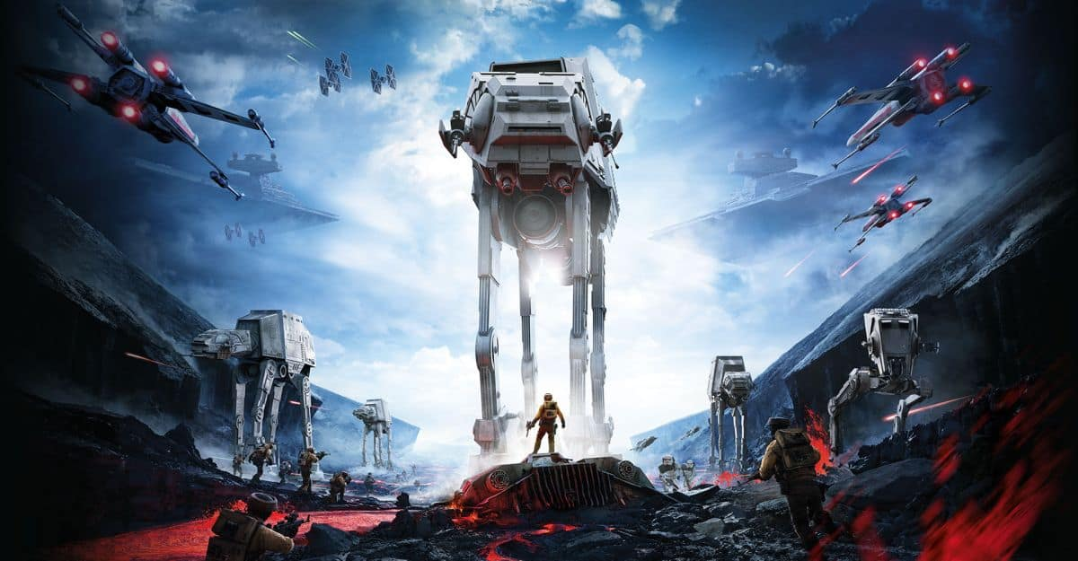 Artwork Star Wars Battlefront