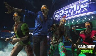 call of duty infinite warfare mode zombies ventes en France