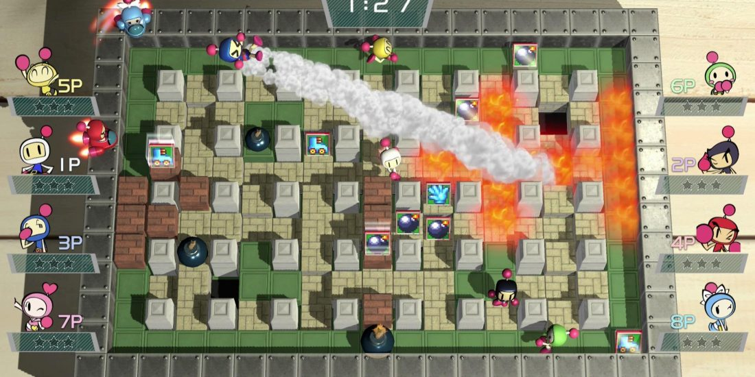 Super bomberman sur switch